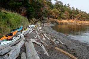 1.8.2017 - Unsere Bucht auf Jones Island