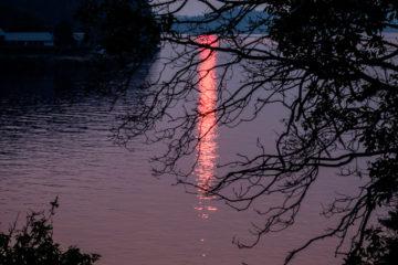 2.8.2017 - Sonnenuntergang, Blind Island
