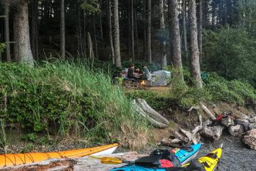3.8.2017 - Camp Fire, James Island