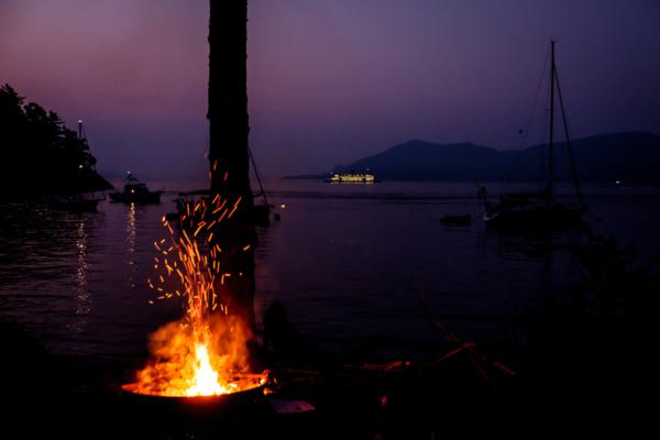 3.8.2017 - Abendstimmung, James Island