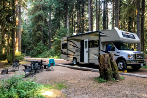 9.8.2017 - Olympic NP,  Sol Duc Campground, Site A18