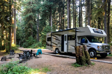 8.8.2017 - Olympic NP, Sol Duc Campground, Site A18