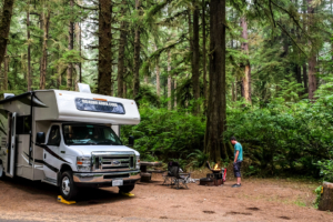 9.8.2017 - Olympic NP, Mora Campground, Site C48