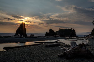 11.8.2017 - Olympic NP, Ruby Beach