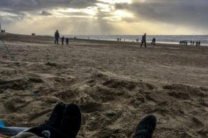 29.10.2017 - Wind und Wetter in Katwijk