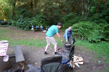 15.8.2017 - Cape Perpetua Campground