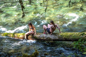 17.8.2017 - Paradise in Oregon, McKenzie River
