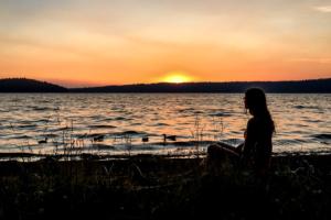 18.8.2017 - Newberry NVM, Sunset @ Paulina Lake