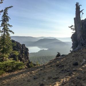 Nordwesten 2017 - Newberry, Paulina Peak, Paulina Falls & Obsidian Flow