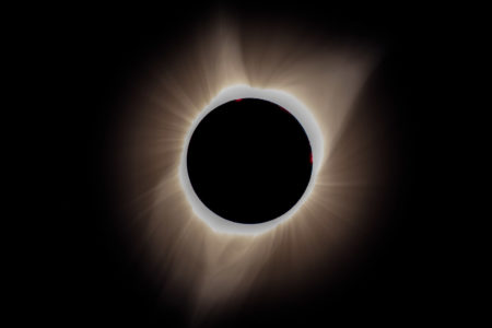 21.8.2017 - Eclipse in Madras. 10:21:16 - ISO 200, f/8, 1/4 sec, 560mm (x1,5)