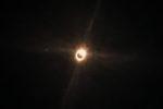 """21.8.2017 - Eclipse in Madras. 10:20 - Karla gelingt als einzige der """"Diamond Ring"""" :-)"""