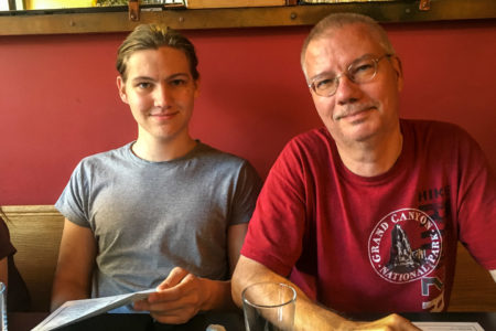 28.7.2017 - Mittagessen im Cafe Poloma