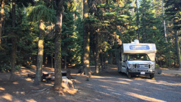 18.8.2017 - Newberry NVM, Little Crater Campground, Site 35