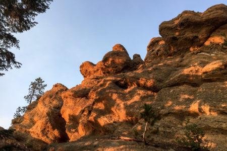 18.8.2017 - Newberry NVM, Little Crater Trail