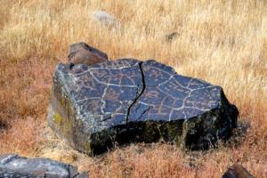 22.8.2017 - Horsethief Lake SP, Petroglyphs