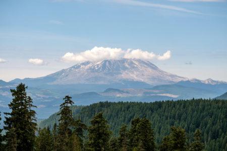 23.8.2017 - McClellan Overlook auf den Mt.St.Helens
