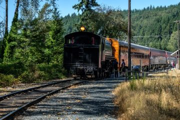 25.8.2017 - Mt.Rainier Historic Railroad