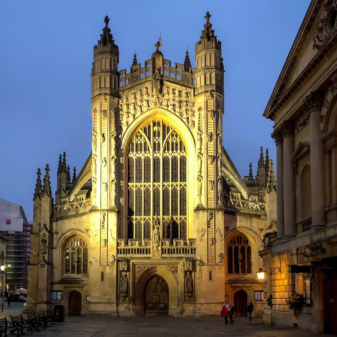 6.10.2017: Bath Abbey