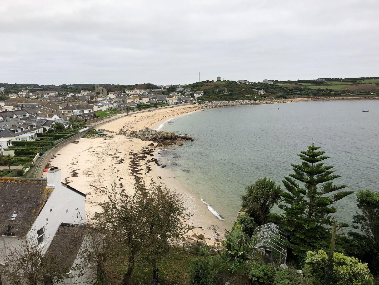 14.10.2017 - St.Mary's, Porthcressa Beach von Hugh Town