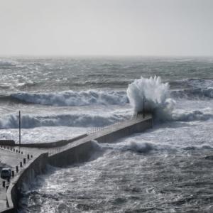 Cornwall 2017 - Hurricane Ophelia