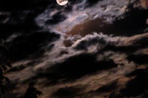 27.7.2018: Mondfinsternis, 1:12, Vollmond und Mars