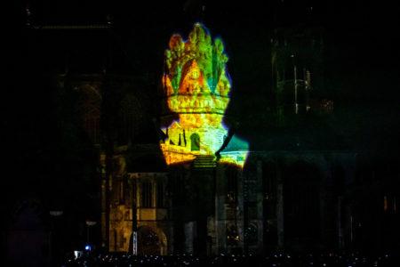 27.9.2018 - Der Dom leuchtet