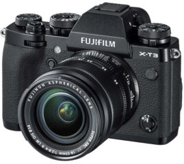 Fuji X-T3 mit 18-55mm