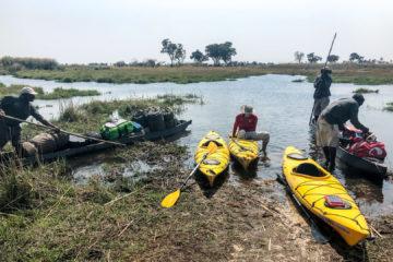 31.8.2019 - Kayak Tag 1 - Mittagspause