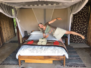 13.9.2019 - Caprivi Houseboat Safari Lodge, Tent 4
