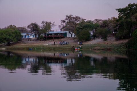 14.9.2019 - Sambesi, Sunset Boat Tour - Hippo Bar