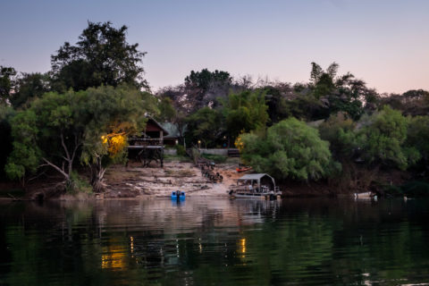 14.9.2019 - Sambesi, Sunset Boat Tour - Caprivi Houseboat Safari Lodge