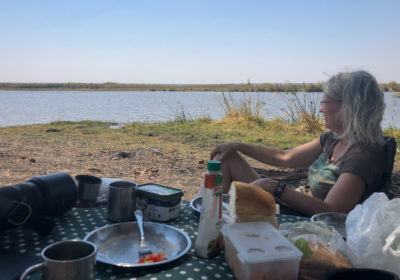 19.9.2019 - Picknick, Mahango Core Area