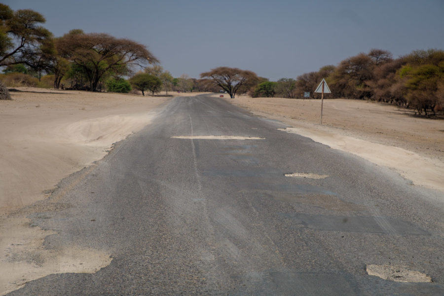 22.9.2019 - Pothole Highway (Shakawe -> Sehithwa)
