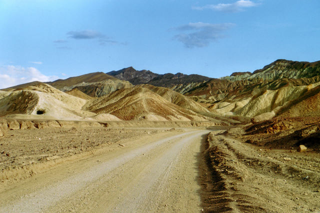 Twenty Mule Drive, Death Valley
