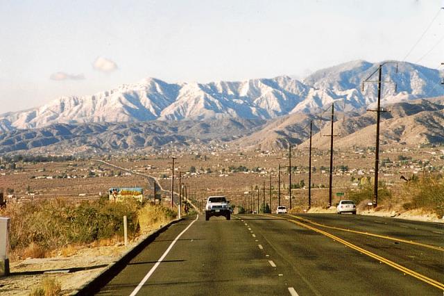 CA 62, Palm Springs