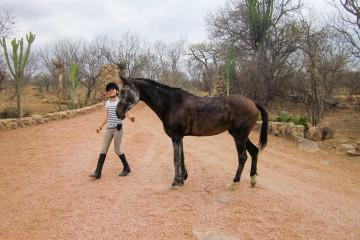 Karla mit Etoscha