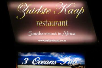 30.10. Cape Agulhas, im südlichsten Restaurant Afrikas