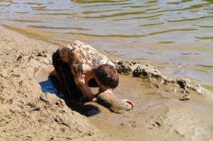 17.8.2004: Oregon Dunes - Baden im Jessie M Honeyman State Park