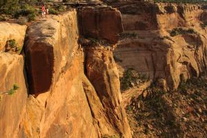 13.7.2008: Dead Horsepoint State Park: Big Horn Overlook