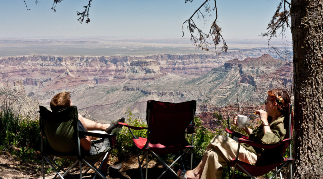 14.-16.6.2011 - Grand Canyon - Roosevelt Point: Picknick :-)))