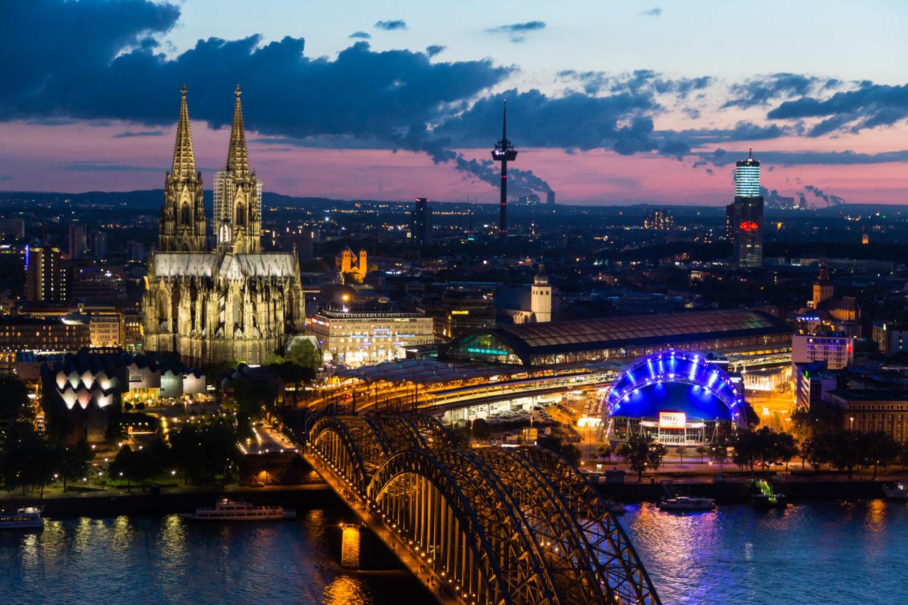 12.5.: Köln bei Nacht