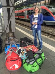 12.7. Abfahrt in Aachen Hbf