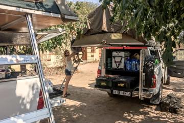 18.8. Fahrzeugtausch in Kasungula