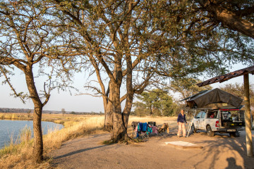 18./19.7. Camp Chobe, Site 3