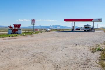 12.7. Muddy Gap - die teuerste Tankstelle