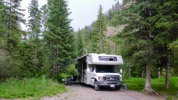 15./16.7. Meeteetse, Shoshone NF - Wood River CG, #5