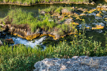 18.7. Baden im Boiling River