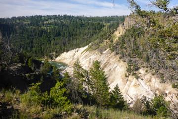 20.7. Yellowstone Picnic Area Trail - River&Canyon
