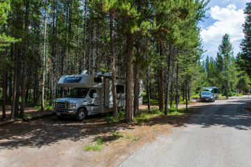 22.7. Colter Bay Campground, #A9