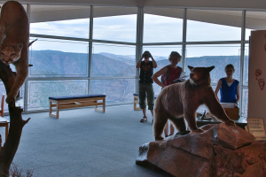 24.7. Flaming Gorge - Visitor Center